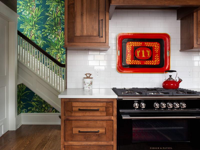 Kitchen in Original Farmhouse Restoration by Grant Gilvesy Design