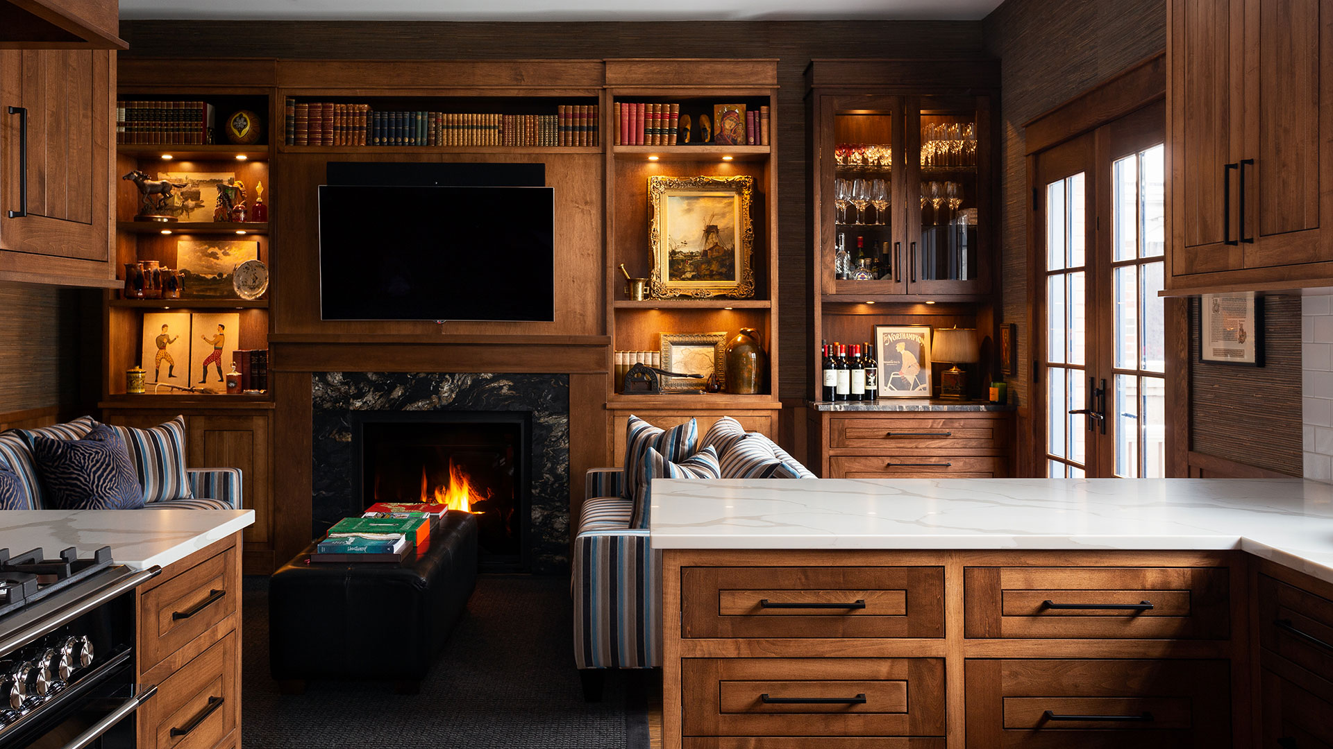 Warm and Cozy Spaces
